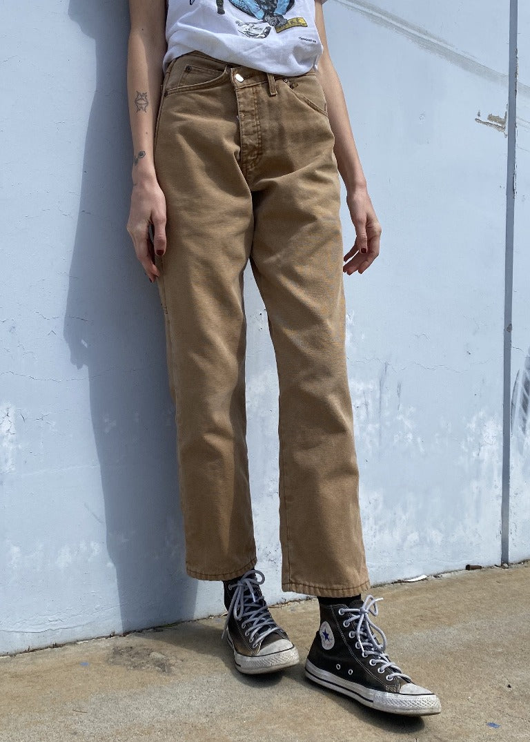 RCYCLD Cross Closure Workwear Pants