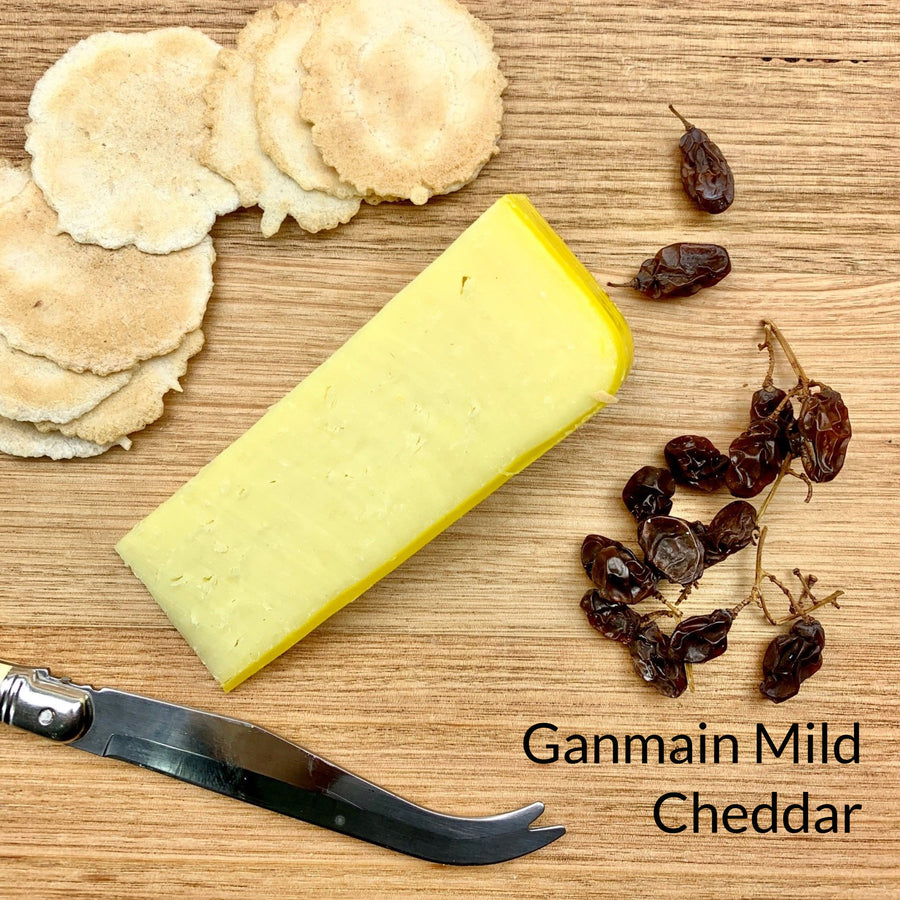 Ganmain Mild Cheddar, Riverina artisan cheese, artisan cheese board Riverina Artisan Cheese