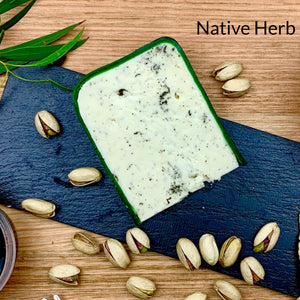 Native herb cheese , Riverina Artisan cheese, artisan cheese, artisan cheese board