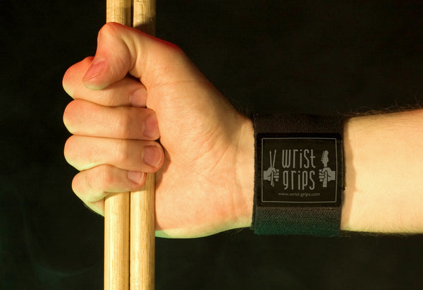 Wrist Grips and Drum sticks