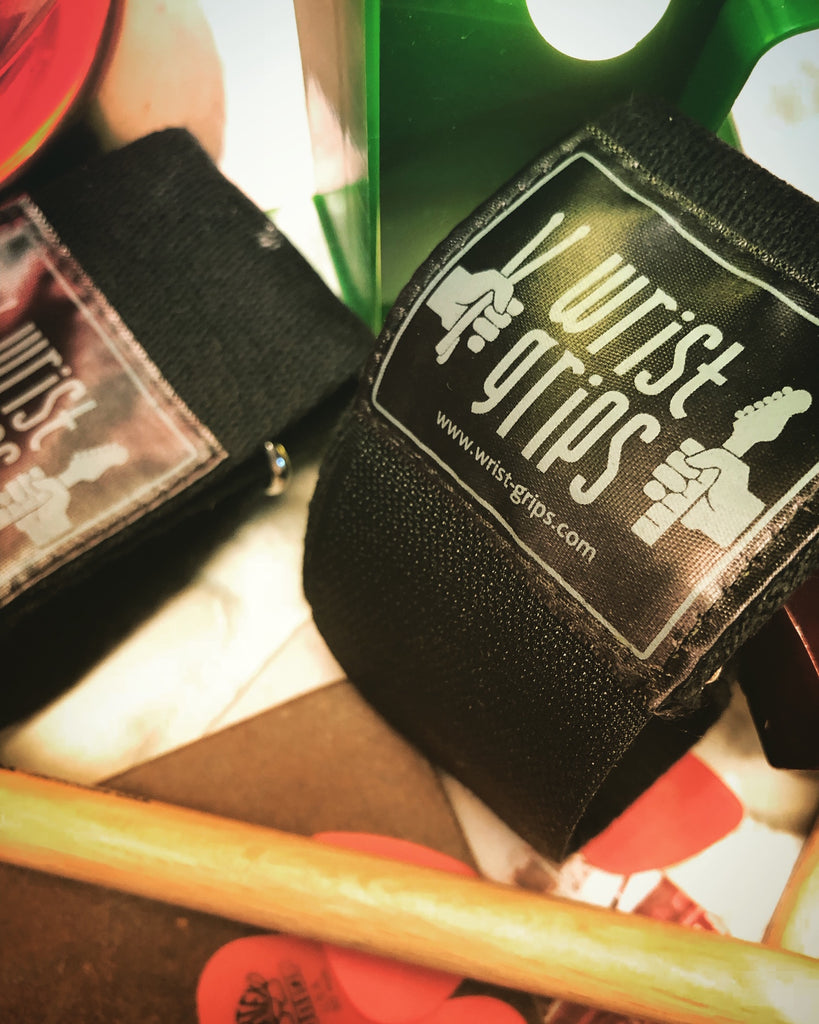 WRISTGRIPS WRAPS FOR MUSICIANS (2 wraps)