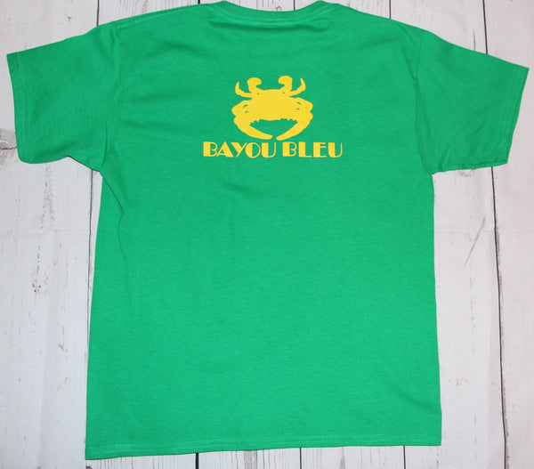 Youth Irish Green Logo Short Sleeve T-Shirt