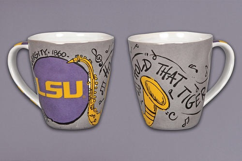 LSU Artwork mug
