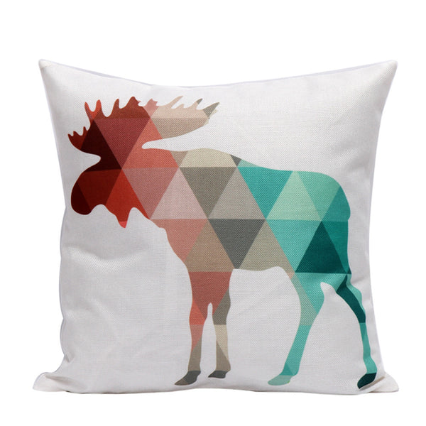 Christmas Pillow Cushion Cover