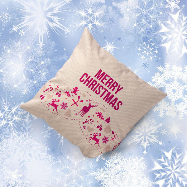 Christmas Decoration Festival Pillowcase Cushion Cover