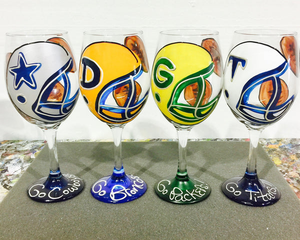 "BOSO 50%  ""Sport Football - ANY Team!""   BUY A GLASS, SEND A GLASS - VIRTUAL HAPPY HOUR!"
