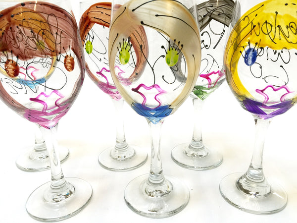 "BOSO 50%  ""Custom Wine Sisters""  BUY A GLASS, SEND A GLASS - VIRTUAL HAPPY HOUR!"