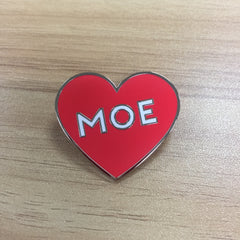 Moe Heart Enamel Pin