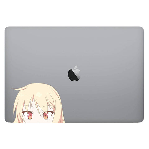 Vinyl Decal of Mashiro from The Pet Girl of Sakurasou on Laptop