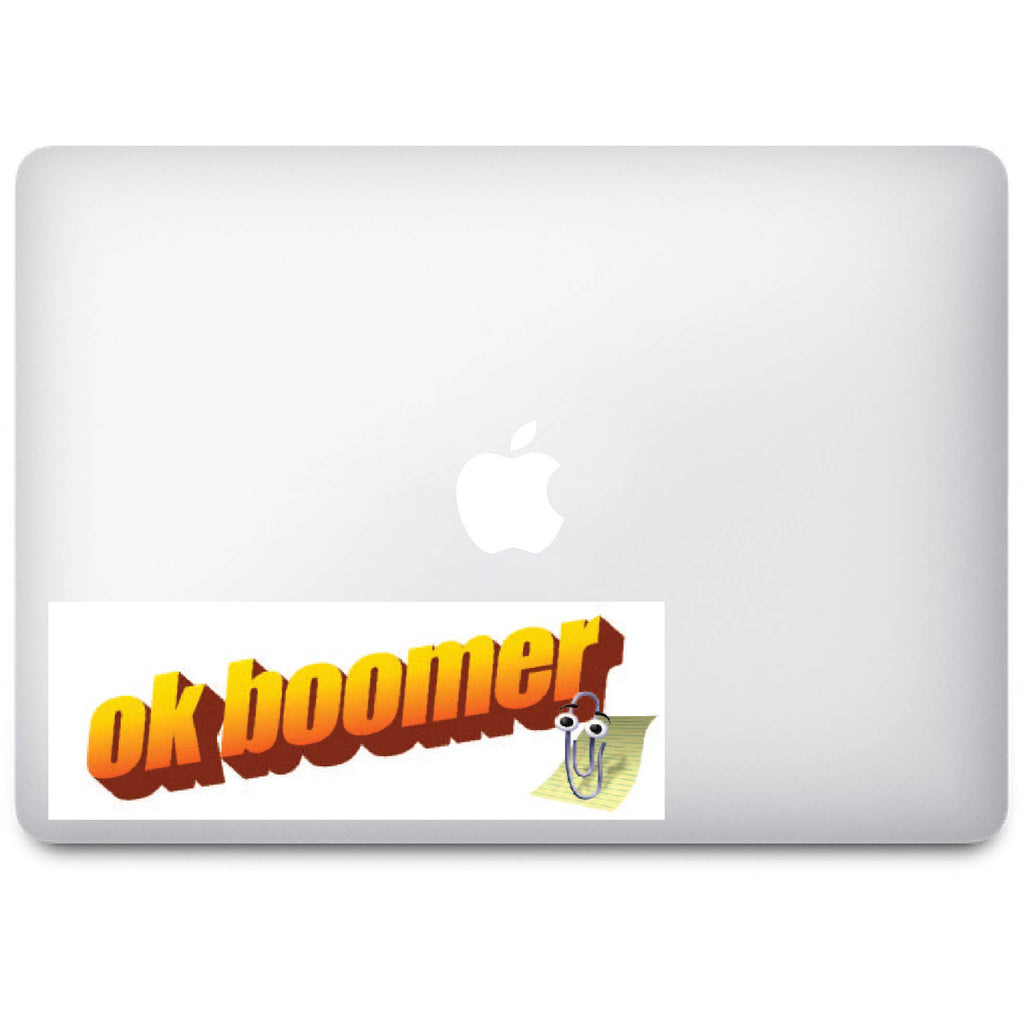 ok boomer - Slap / Bumper Sticker