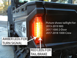 Turn Signal Kits for Polaris Ranger UTVs with Euro Taillight Replacements