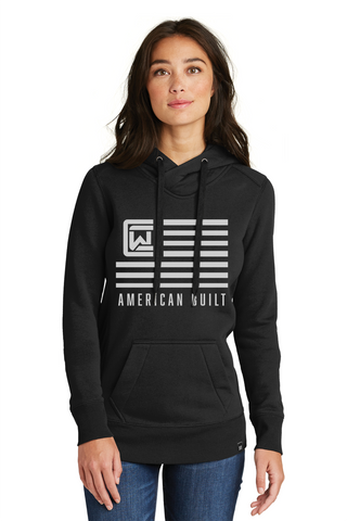 Ladies' Hoodie - Black - American Built