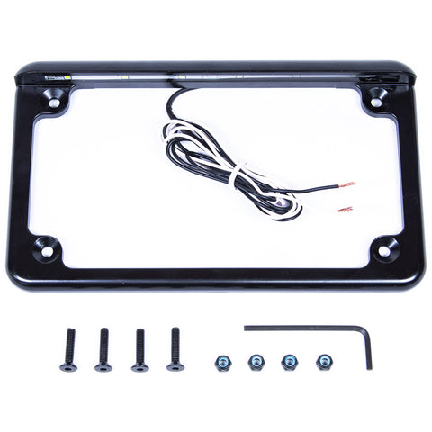 UTV License Plate Frame with LED Light