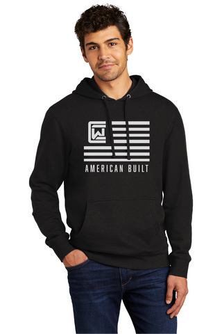 Men's Hoodie - Black - American Built