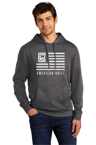 Men's Hoodie - Grey - American Built
