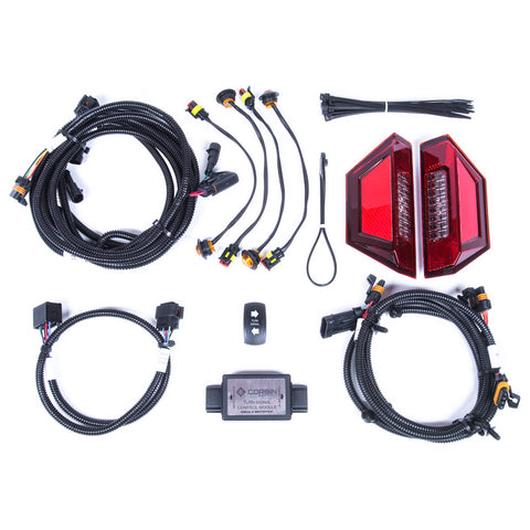 Turn Signal Kits for Polaris General UTVs with Euro Taillight Replacements