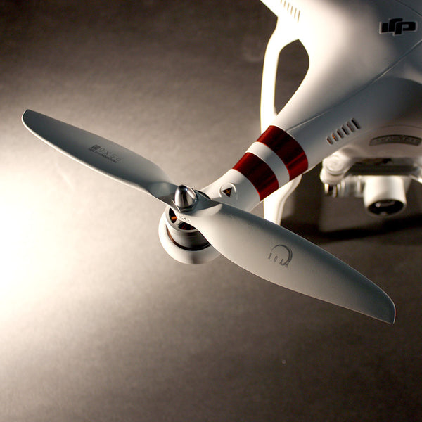 XOAR DJI Phantom 9450 White Wood Self-Tightening Propellers (2 Pairs)