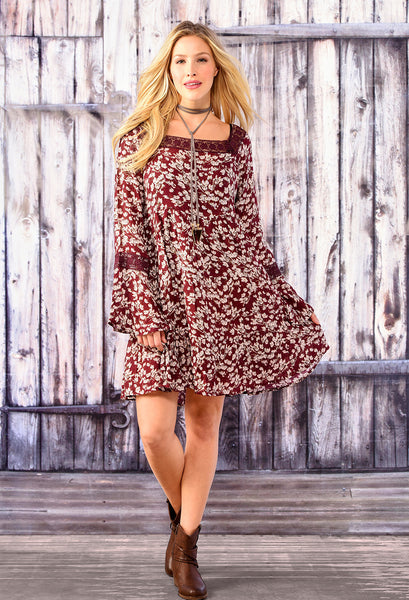 Blossom Peasant Dress