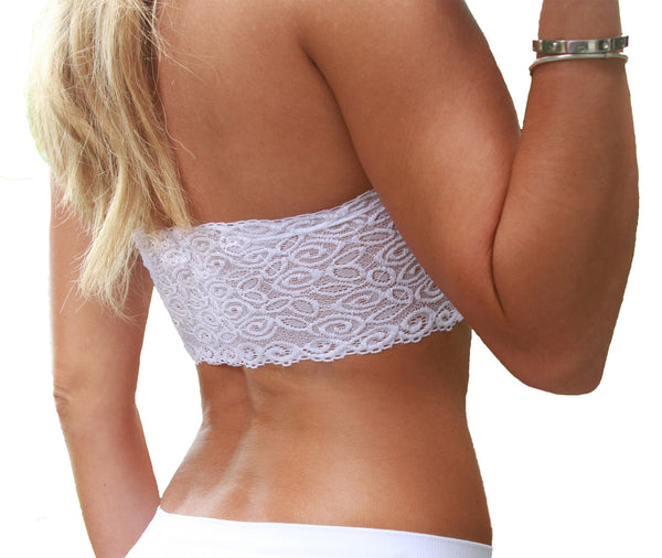 Bandeau with Lace Back - Your Dream Boutique