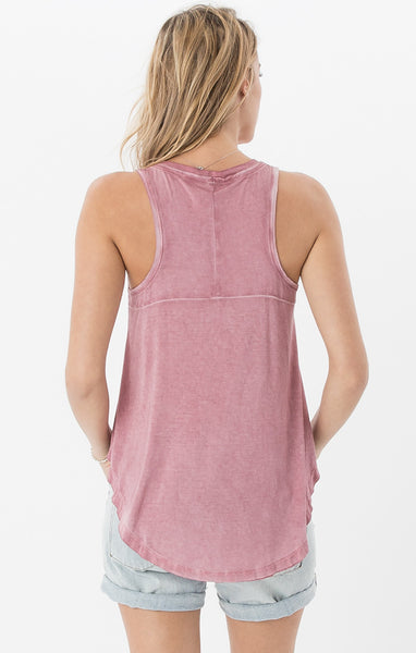 Blossom Rose Tank - Your Dream Boutique