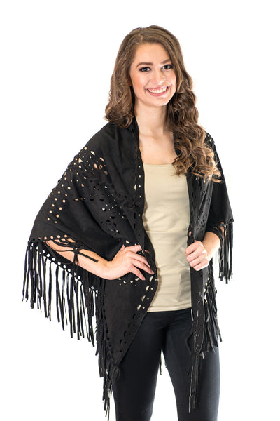 Jump To The Next Level Fringe Shawl - Your Dream Boutique
