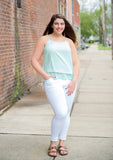 Standing Tall White Skinny Jeans - Your Dream Boutique