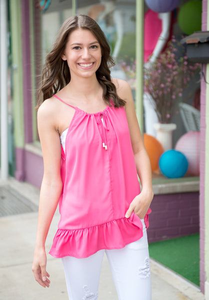 Flirty And Fun Tank Top - Your Dream Boutique