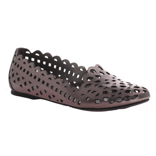 Sutton New Pewter Flats - Your Dream Boutique