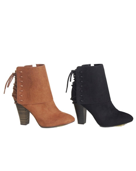 Rust Sued Boots - Your Dream Boutique