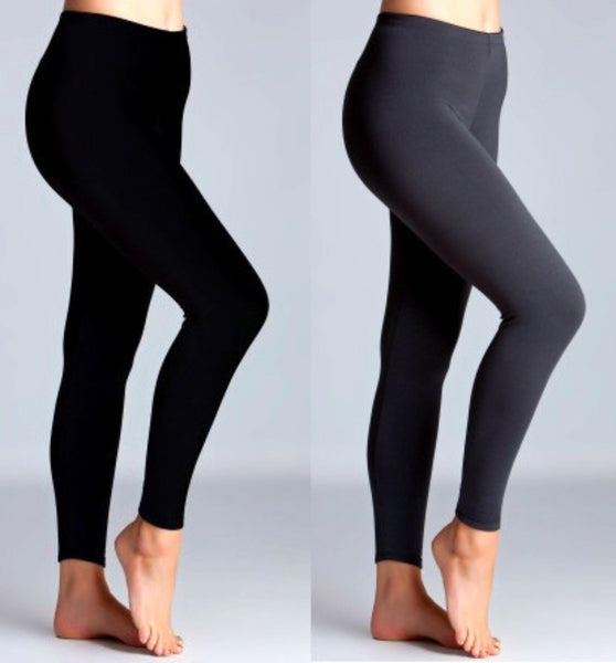 Curvy Fleece Leggings - Your Dream Boutique