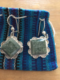 Handmade Jade Large Earrings - Your Dream Boutique