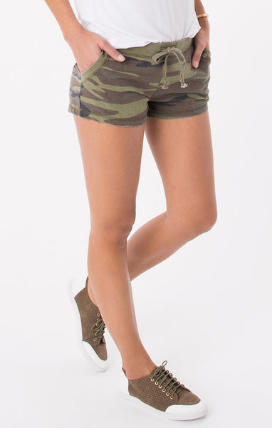 Camo Green Shorts - Your Dream Boutique