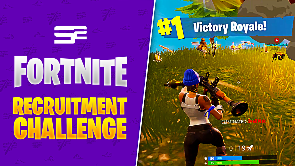 Fortnite Recruitment Challenge