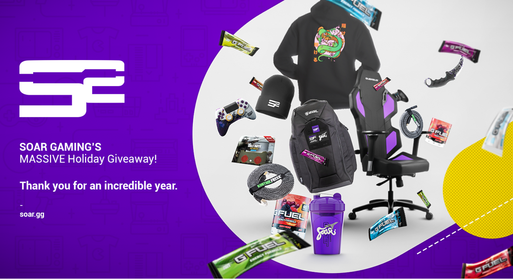 SoaR MASSIVE Holiday Giveaway -  (10 Winners)