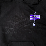 "SoaR x Champion ""BLUEPRINT"" Hoodie"