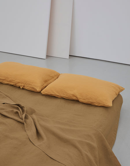 Pillow slip set - Mustard | Deiji Studios