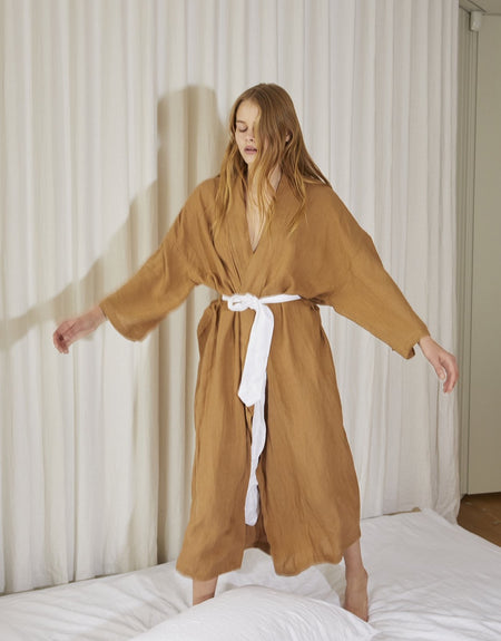 the 02 robe - walnut | Deiji Studios