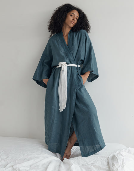 the 02 robe - legion blue | Deiji Studios