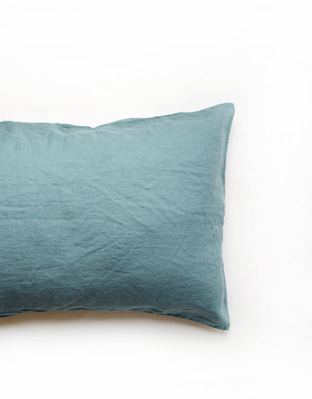 cyan pillow slip (preorder for late dec delivery) | Deiji Studios