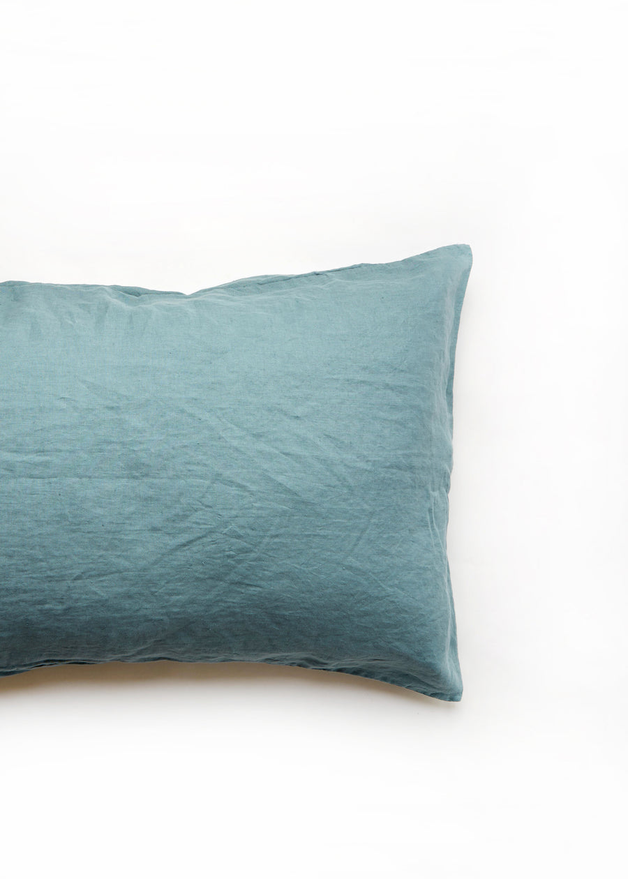 cyan pillow slip
