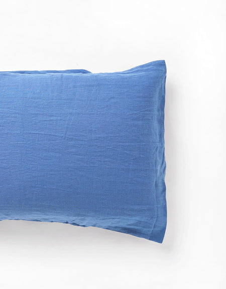 royal blue pillow slip | Deiji Studios
