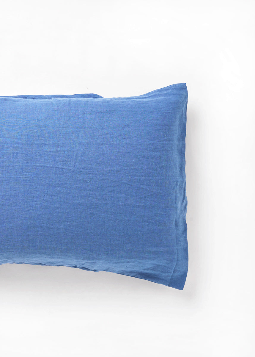 royal blue pillow slip