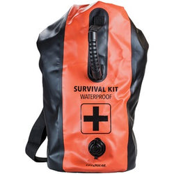 2 Person Waterproof 72-Hour Premium Survival & Emergency Dry-Bag Backpack Kit