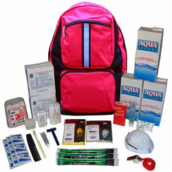 ''Earthquake Zone'' 3-Day Staff Backpack Kit