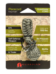 Guardian Cord Paracord Keychain