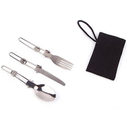 Camping Stainless Utensil Set