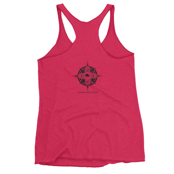 Paddles Up Women's Racerback Tank