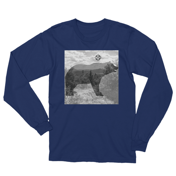 Mountains and Bears Long Sleeve T-Shirt