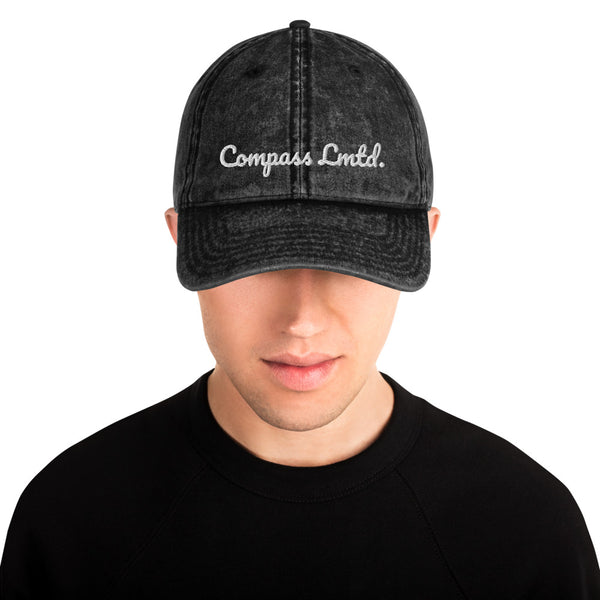 Compass Lmtd. Vintage Cotton Twill Cap