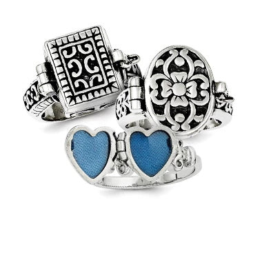 Locket Rings